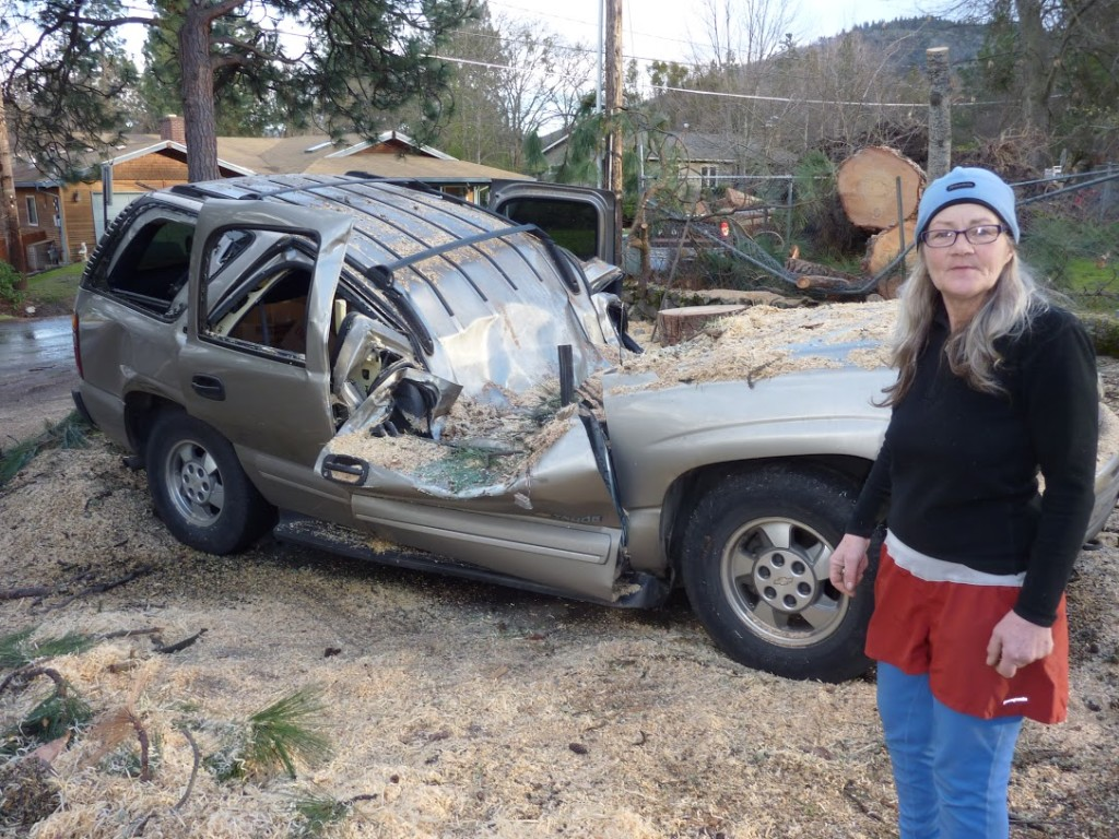 Photos Tree Crushes Woman S House Car In Ashland Or
